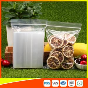 Quality Plastic Tight Seal  Packing Ziplock Bags Reclosable Poly Storage Bags for sale