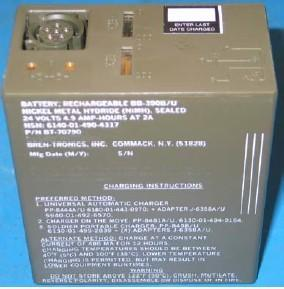 China rechargeable Nickel Hydride Military Battery BB-390 B/U on sale