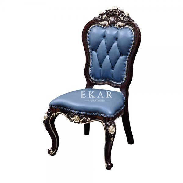 Luxury High Back Leather Upholstered Dining Chair Oy Cy06 For Sale Chairs Manufacturer From China 108669443