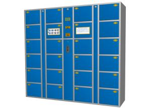 China Supermarket / Airport Luggage Personnel Lockers Solutions ,  CE Electronic Commercial Locker on sale