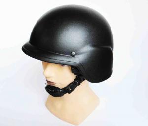 China MICH 2002 steel ballistic helmet with dark blue on sale