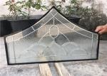 浮遊物の建築ドアの平らな端のための緩和された装飾的なパネル ガラス