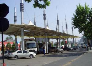 China Purlin de botte de structure métallique de cadre de l'espace de sécurité de station de péage on sale