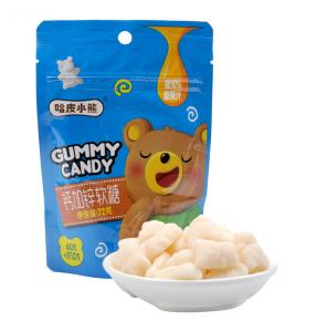 China Sugar Coating Calcium Plus Zinc Gummy Bears For Adults Small Pack No Water Needed on sale