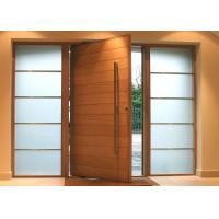 Solid Wood Modern Pivot Front Doors