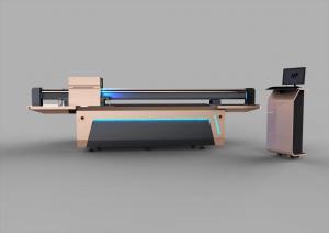 China Glass / Ceramic Large Format Uv Printer , Flatbed Digital Printing Machine on sale