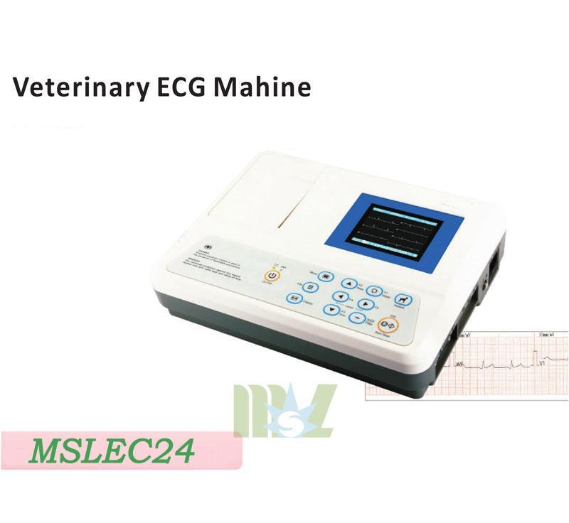 MSL Portable 3 lead veterinary ecg machine MSLEC24