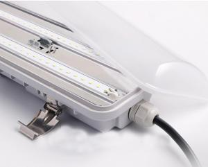 China High Efficiency Ip65 LED Tri Proof Lamp Epistar2835 Lifud Driver PF>0.95 on sale