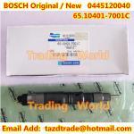 Inyector original de BOSCH /New 0445120040/65.10401-7001C para DAEWOO DOOSAN