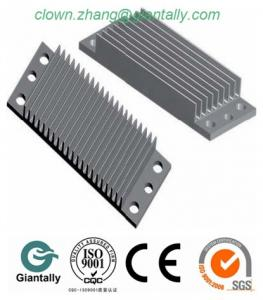 China Anodized surface alloy 6061 aluminum heat sink on sale