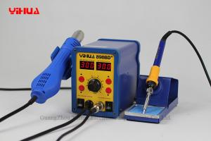China 2 In 1 Automatic Hot Air / Soldering Iron Solder Station , PCB / IC Rework Stations on sale