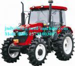 China YTO-LF1004-C/LF1104-C Four Wheel Farm Tractor 81KW Engine Power , Operating Weight 4250kgs wholesale