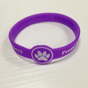 China Good quality power bracelet / led silicone bracelet / magnetic bracelet watch on sale