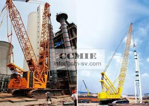 China Mobile Hydraulic XCMG Crawler Crane Construction Machinery With Heavy Light Boom on sale