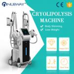 factory price 4 handles -15oC Vacuum cryolipolysis fat reduction machine