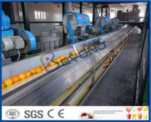 China Full Automatic Engery saving Orange Processing Line for Turn Key Project on sale