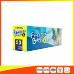 Resealable Plastic Freezer Zip Lock Pouch Bags Easy Open For Daily Use