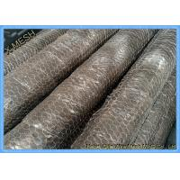 China 1/2 Mesh Openning Metal Wire Mesh PVC Coated Galvanized Hexagonal Wire Netting Chicken Mesh on sale