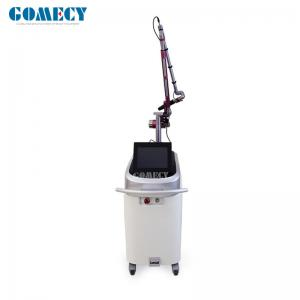 China Powerful Q-switched Nd Yag Laser Tattoo Removal Machine Spot Size Adjustable Korean Laser Arm on sale