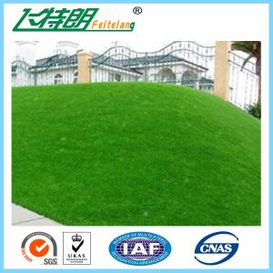 China 50mm Filed Green Natural Artificial Turf Grass For Garden / School / Backyard on sale