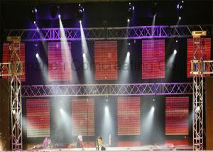 China 16W advertising Flexible LED Display  P8.928 / HD Rental LED Panel Screens on sale