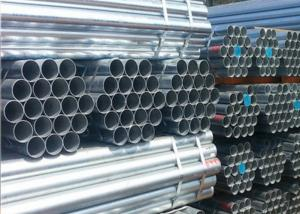 China Zinc Painted Astm A53 Grade B Erw Pipe , Hot Dip Galvanized Threaded Pipe on sale