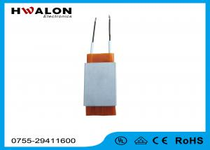 China Insulation Yellow Paper Electric Ceramic PTC Heating Element 110V - 240V 200W on sale