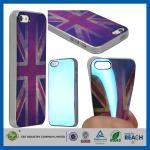 Les filles molles de rétro gel BRITANNIQUE du style TPU façonnent les caisses durables de téléphone portable pour Apple Iphone 5S