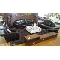 Modern Leather Chaise, Lounge Chair, Imported Top Grain Cow Leather Sofa Set