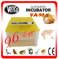 2014 Top selling 96 eggs full automatic chicken egg incubator for sale