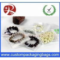 China Transparent Clear EVA PVC Resealable Custom Packaging Bags Jewelry Bags With Waterproof on sale