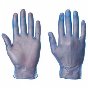 China A Grade Disposable Vinly PVC Gloves Powder Free Proved By CE And FDA on sale