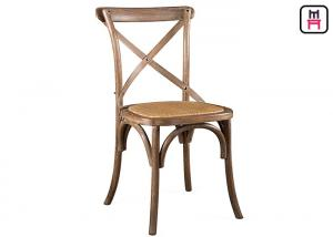 Amazing Quality Wedding Event Romantic Wood Restaurant Chairs Rattan Seats / French  Style For Sale ...