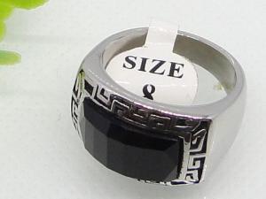 China Semi Precious Stone Ring Vintage Style 1140329 on sale