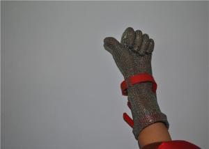 Quality ステンレス鋼の網の安全手袋、台所安全肉スライサーの手袋 for sale