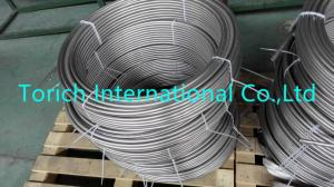 China 316l / 316 / 304 Precision Stainless Steel Tubing For Condenser Heat Exchanger on sale
