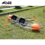 Surfing Polycarbonate Transparent Canoe Kayak Paddle Rigid Inflatable Boats