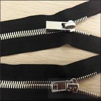 China High quality #8 metal zipper with nickel brass teeth C/E for sale on sale
