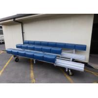 Convenient Aluminium Bench Seats Swivel Casters For Outdoor / Indoor Movement