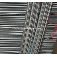 Customized Stainless Threaded Steel Rod / Zinc Plated Threaded Rod High Accuracy