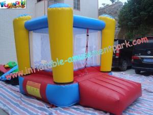 China Cool Small Nylon Jumping House Mini Inflatable Bounce Houses For Kids, Child on sale