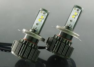 China High Speed Fan Cooling Car Led Headlamp Bulb H4 For Automotive Lights on sale