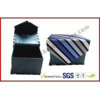 Magnetic Grey Board Apparel Gift Boxes With Silk Cloth Covering , Tie / Perfume / Jewelry Boxes