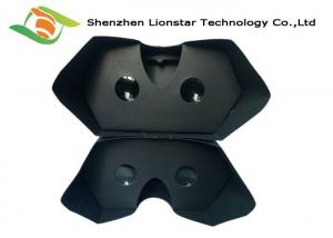China V2 Cardboard Virtual Reality Headset With Sucker Head Strap Forehead Pad Nose Pad on sale