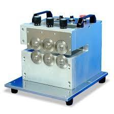 China LED PCB Depaneling Machine With Three Group High Speed Steel Blades on sale