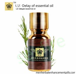 China Xiuzhi Uz Delay Of Essential Oil For Men Use 10ml , Sex Delay Spray on sale