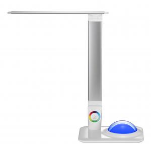 China dimmable touch led table lamp with 256C living  color light on sale