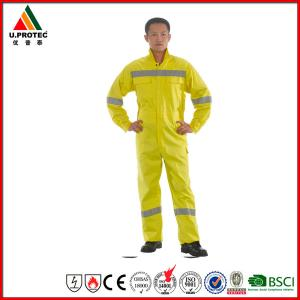 1863aa55a77c Custom Fireproof Cotton Antistatic Fire Resistant Coveralls   FRC Clothing  with