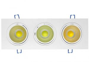 China 180degree rotatable 3X10W COB LED Ceiling Light on sale