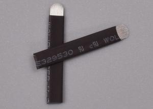 China Eyebrow Tattoo Nano 0.18mm 18 U Shape PMU Microblading Blade Medical Acupuncture Stainless Steel Needle on sale